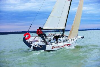 LETT: Båten som mistet kjølen er en Code 8, bygget for innsjøer.