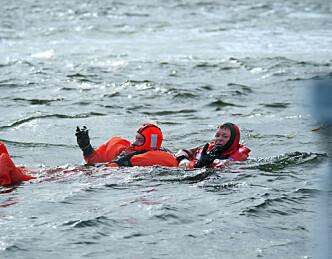 Kulda stopper svømmeferdighetene