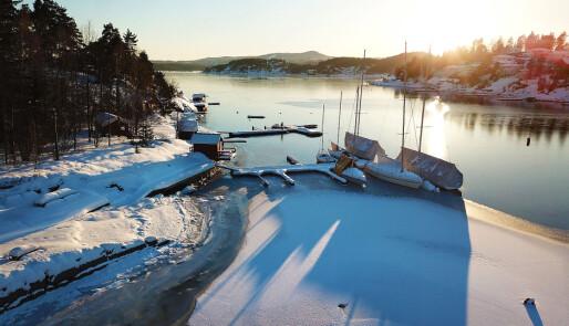 Gjør båten klar for snø og sprengkulde