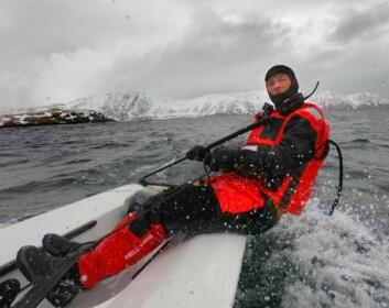 Med kurs mot Havøysund