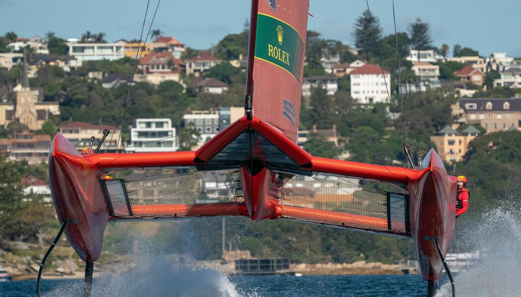 FOILING: SailGP samler America's Cup seilerne