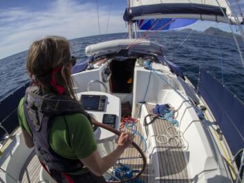Marianne seiler gennaker i Lofoten
