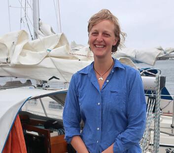 HAVET: Emma Ringqvists mål var å oppleve sørishavet. uren ble et åttetall i Atlanterhavet i stede for jordomseiling i sør.