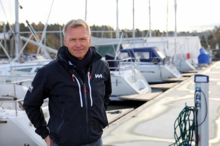 STORM: Atle C. Strøm i If oppfordrer folk til gjøre båtene klare for høststormene.
