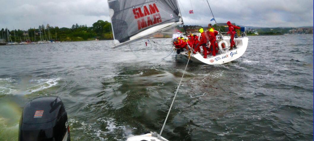 Bruktbåt med grunnstøtingsskade