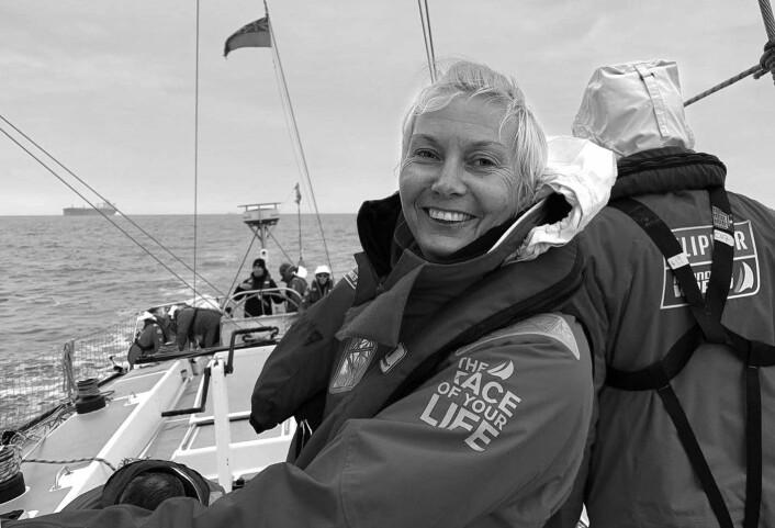 SØRISHAVET: Anne Elisabeth Serigstad mønstrer på Clipper Race i Cape Town, og skal seile de tøffeste etappene.