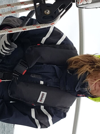 LANGTURSEILER: Charlotte Bratberg fra Tromsø ankom Barbados i «Villa Vilja» noen dager før «S/Y Tonic«