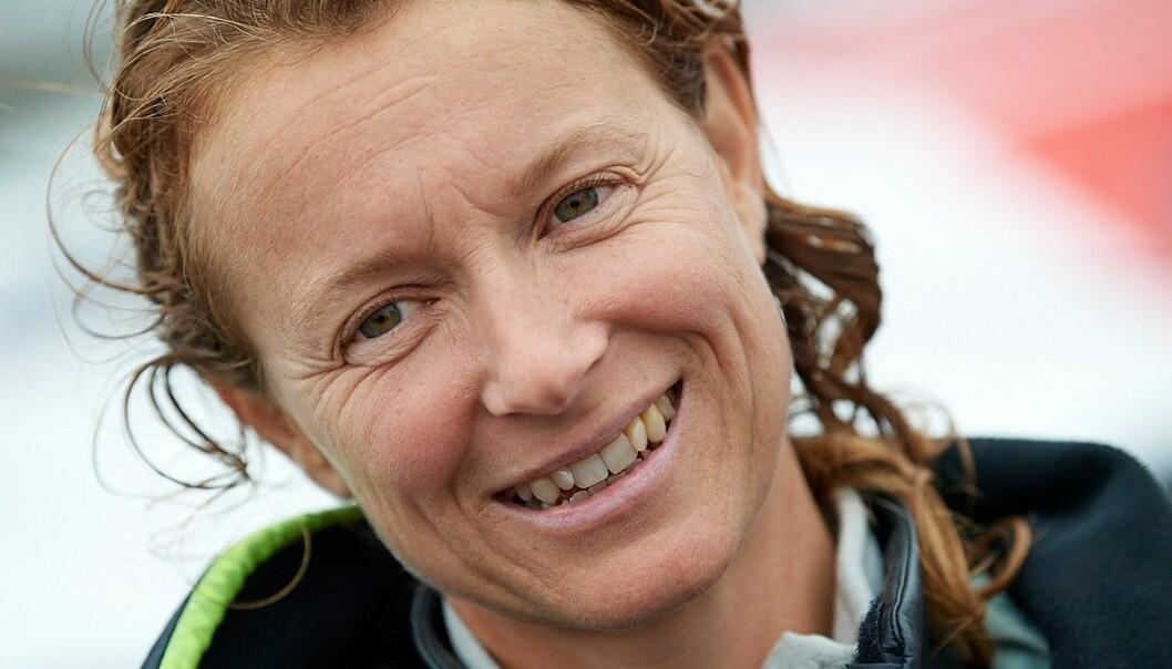 RASK: Isabelle Joschke seiler også fort i en oppgradert båt fra 2007.