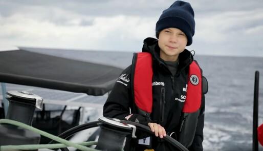 Over Atlanterhavet med Greta Thunberg
