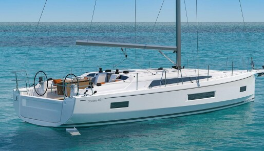Beneteau med ny Oceanis på 40 fot