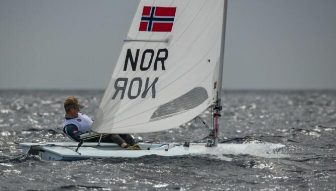 OL-HÅP: Hermann Tomasgard ble nummer seks i VM i februar, og har gode sjanser på topplassering i Tokyo.