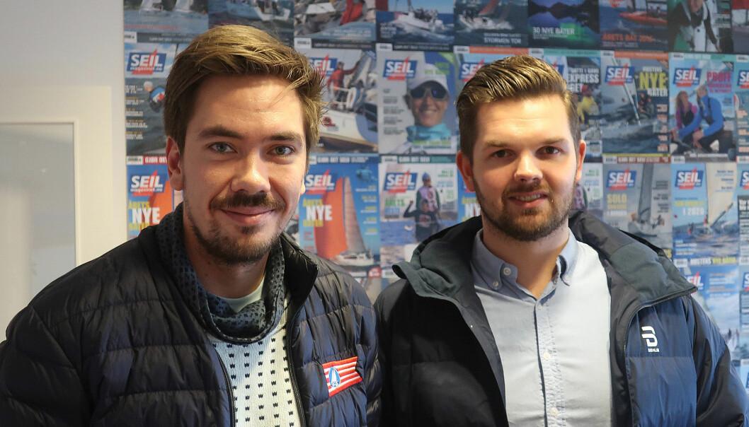 2STAR: Stian Tønnesen og Anders Dalsegg Strand er med å arrangerer 2Star til sommeren.