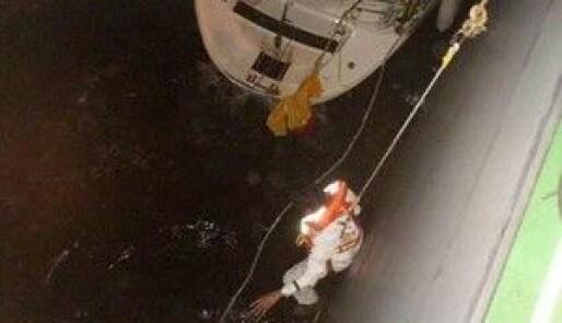 Reddet etter 40 døgns drift i Atlanteren