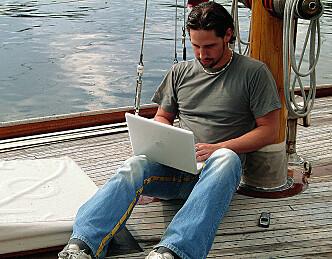 Foredrag om bruk av PC om bord