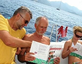 Sol, seil og båtførerprøve