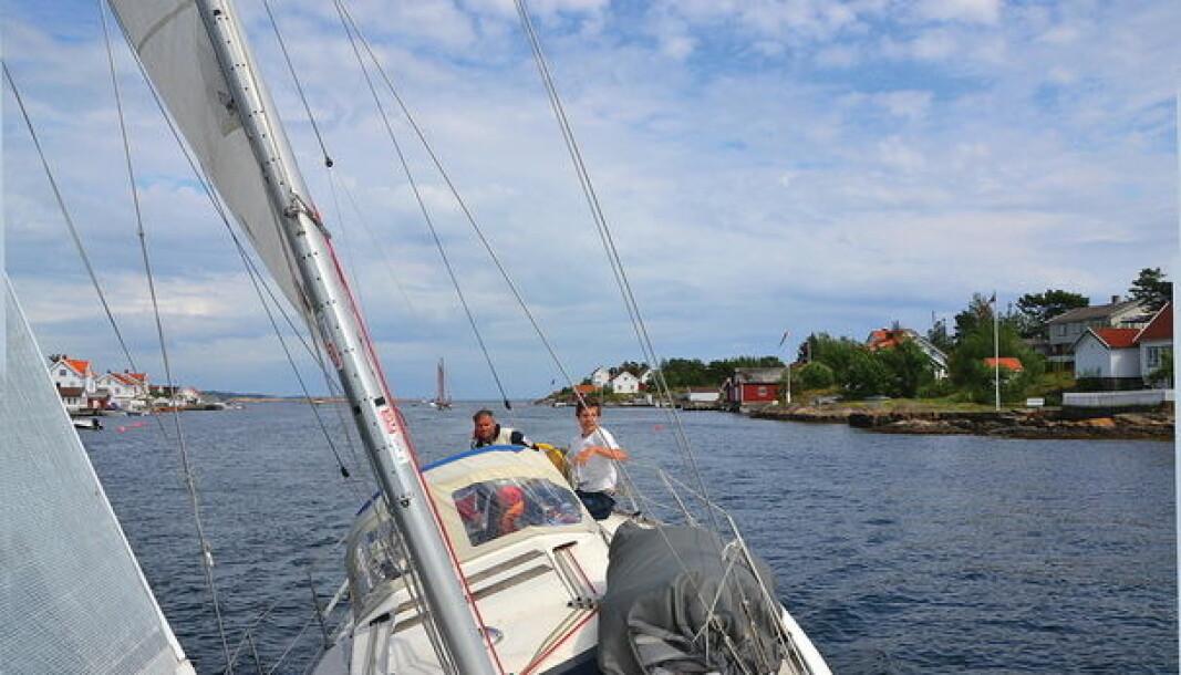 BRUKT: Her finner du en god kontrakt for kjøp og salg av brukte båter. Foto: Axel Nissen-Lie