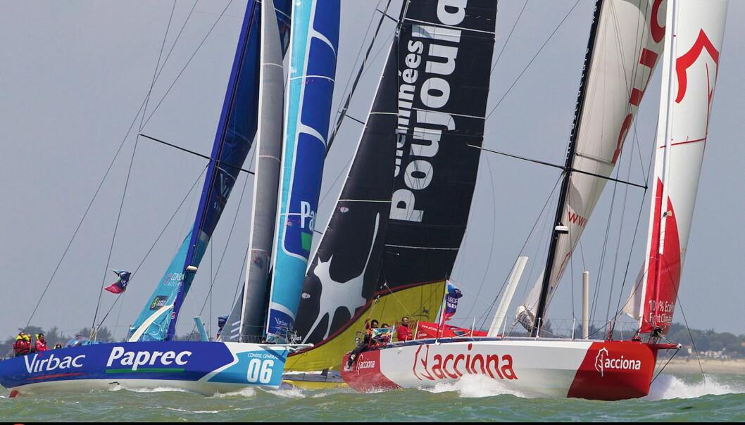 OCEAN RACE: OCEAN RACE Europe Race passer godt inn i IMOCA-erminlisten .