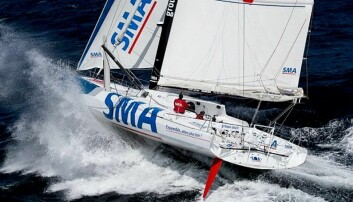 SMA er forrige generasjon IMOCA 60 som vant Vendee Globe for åtte år siden under navnet «Macif»