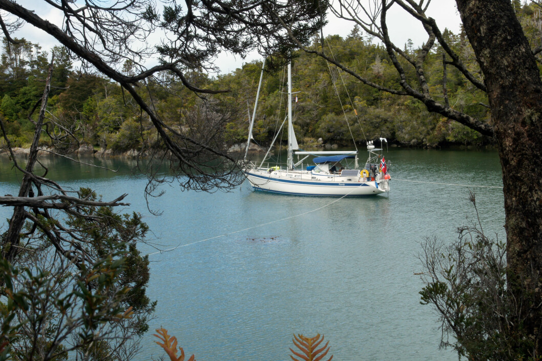 Necessity i Caleta Yvonne - Patagonia er vakkert, men krevende