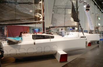 SMART: Seascape 24 er en billigere, enkeler og mindre utgave av 27-foteren. Cocpiten er nesten like stor, men det er tranger under dekk, men helt grei for sporty turseiling. Kjølen vipes opp i skroget, og gjør det mulig å seile ...