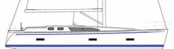 SVENSK: CR Yachts på Orust holder på å bygge en ny 42-foter. Båten får et lavt overbygg, men vil også komme i en dekkshusversjon.