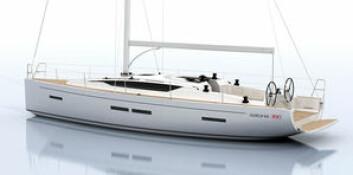 KROATIA: 38-fot ser ut til å bli den nye størrelsen, som tar over for 40-foterne. Salona 380 utfordrer Dehler 38, Arcona 38 og Xp 38. Båten kommer på sjøen i løpet av våren. Båten er tegnet av ...
