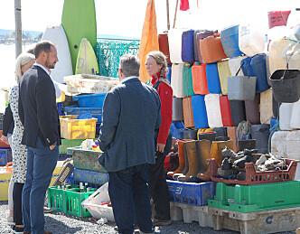 Søppel på Norsk Maritimt Museum