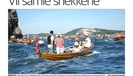 Stor interesse for Hurum Trebåtfestival