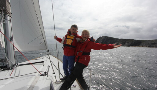 Videoblogg fra Shetlandsseilas