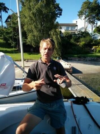 ARC: Knut Frostad setter kursen sydover. I slutten av november skal han krysse Atlanterhavet sammen med sin familie.