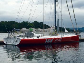 OPPGRADERT: «Galactic Viking» ble seilt hjem fra Canada i fjor. Siden den gang er båten blitt kraftig oppgradert.