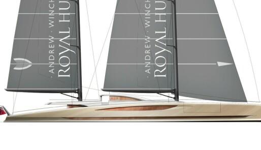 Seil- og motoryacht i samme skrog