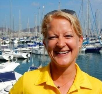ARC: Cecilie Hammersland hjelper deltagerne so skal krysse Atlanterhavet. Hun har selv deltatt i 2008.
