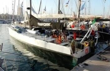VO70: «Trifork» er tidligere «Ericsson4« som vant Volvo Ocean Race.