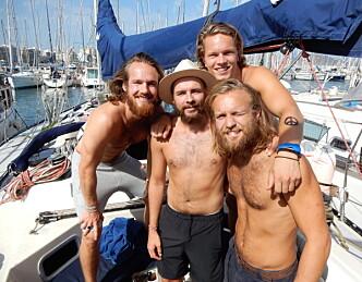Lærte å seile under veis til Las Palmas