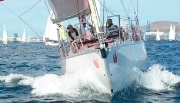 FØRST: «Cubaneren» var første båt over startstreken i hovedfeltet.
