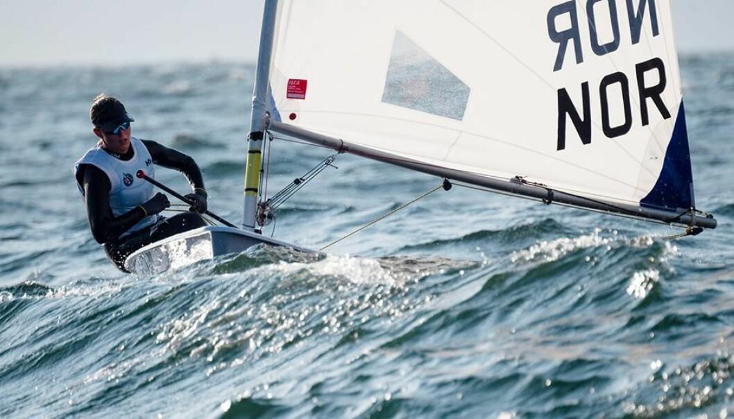 Line Flem Høst seiler for VM medalje