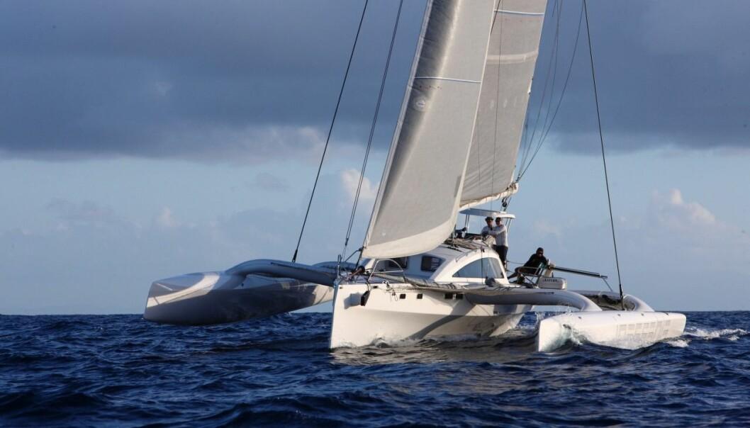 RAPIDO60: «Ineffeble» klarte ikke å seile opp til sitt måletall.