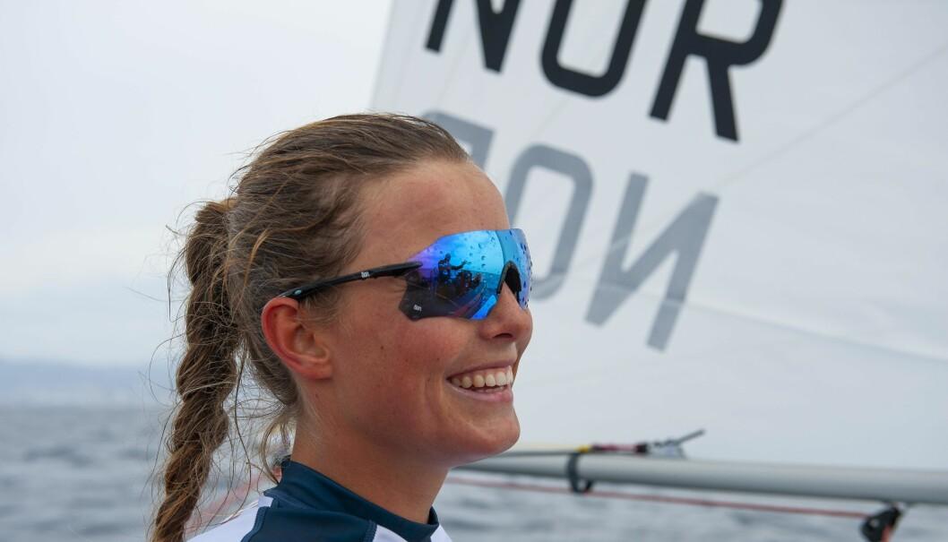 MEDALJE: Line Flem Høst er en av Norges medaljekandidater under OL i Tokyo til sommeren.