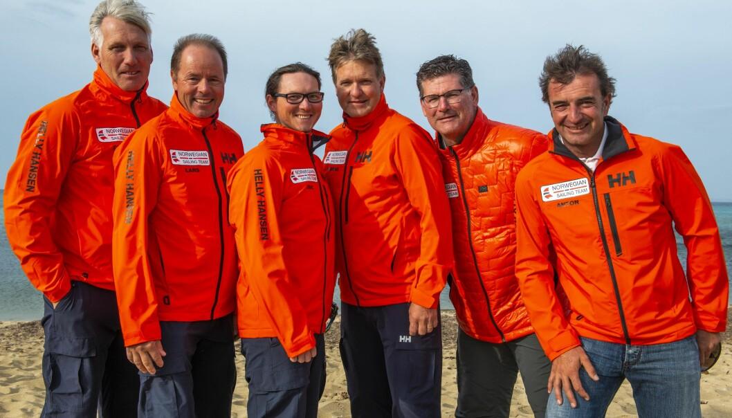 Espen Guttormsen, Lars Loennechen, Eric Holden (meteorolog), Thomas Guttormsen, Rigo de Njis og Anton Garotte utgjør verdens best trenerteam, sier sportssjefen.