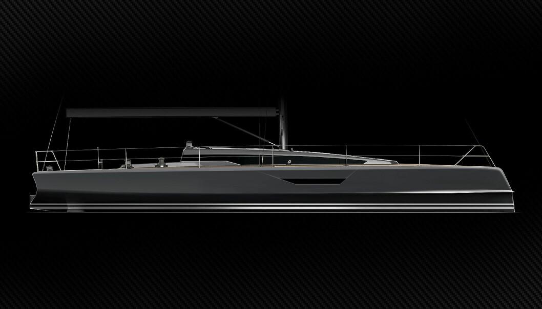 RÅ: Shogun 42.6 blir en lett og rask seilbåt.