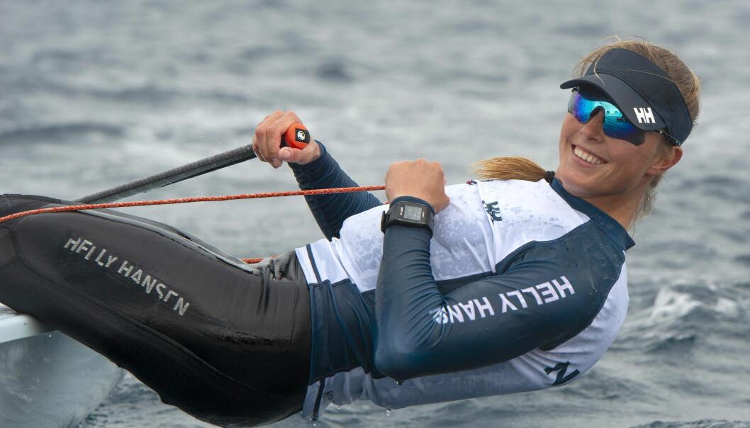 IDRETTSSTJERNE: Line Flem Høst tok VM-bronse i februar og kan ta OL-medaljer til Norge.