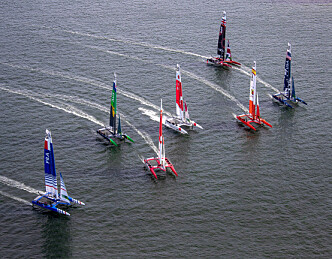 SailGP truer America's Cup
