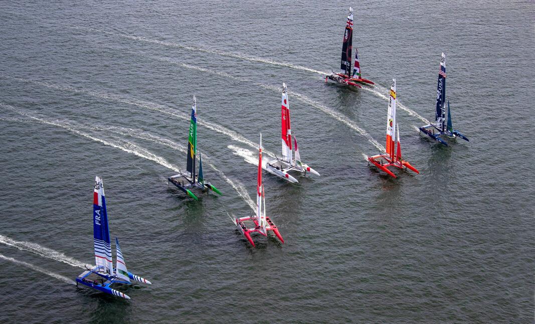 SAILGP: Spania og Danmark er nye lag i SailGP, som nå består av syv land.