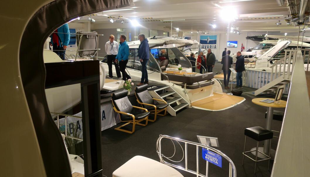REDUSERT: Det blir ingen Storbåtmesse, men vanlig drift i Leangbukta.