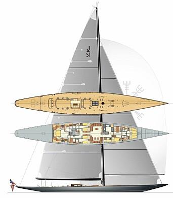 SVEA: Yachten er 143 fot lang som gjør den klassens lengste.