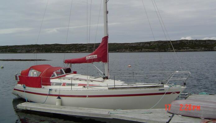 ARCONA: Kul båt med stusselig bildet. Arcona 32 ble starten på noe stort.