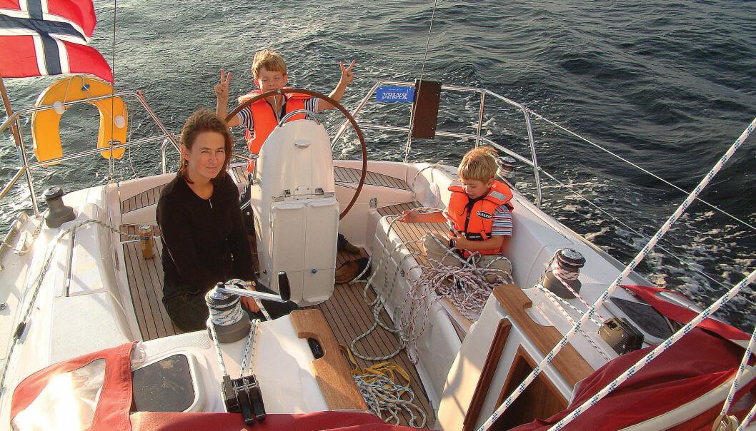 FAMILIEGLEDE: Overrask familien med en turseiler, og bruk ferien langs kysten.