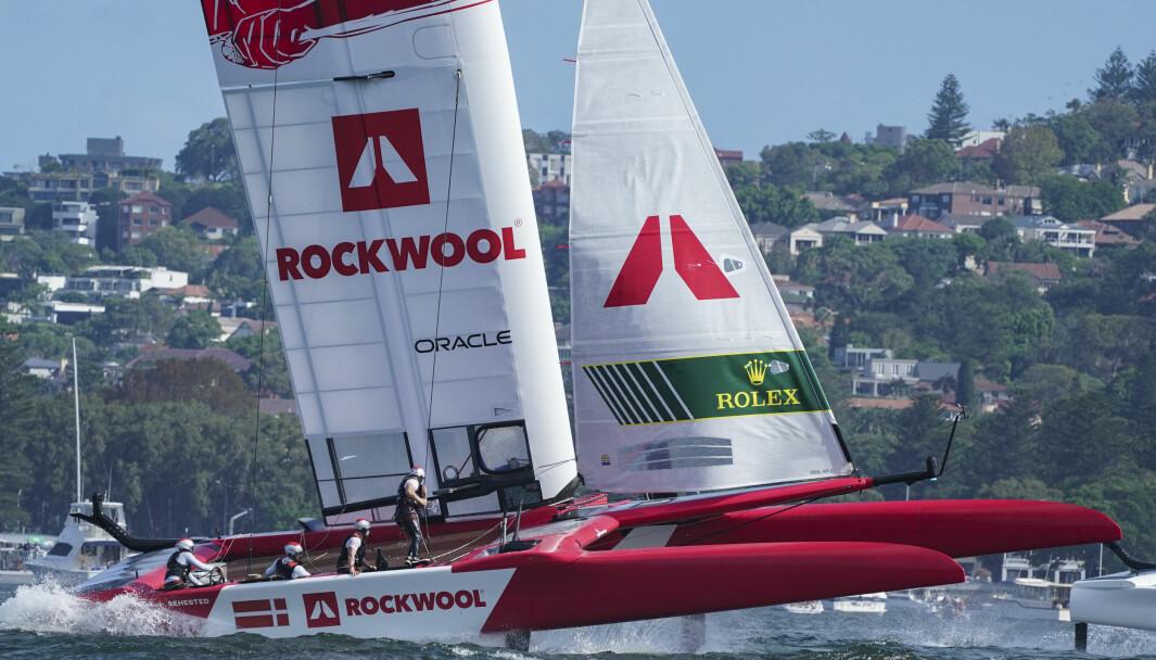 Rockwool, det danske laget i SailGP