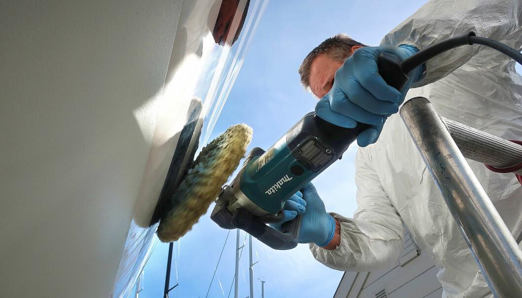 KLARGJØRING: Marinaene er optimistiske med tanke på å få båtene klare før sesongen.